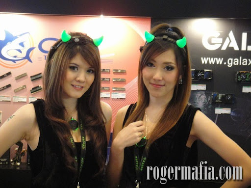 Pretty งาน BIG (Bangkok International Game Festival 2009) ที่พารากอน