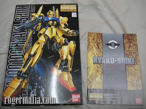 MG MSN-00100 Hyaku Shiki 1/100