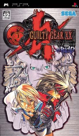 Guilty Gear XX Reload [PSP][JAP][MU] Caratula