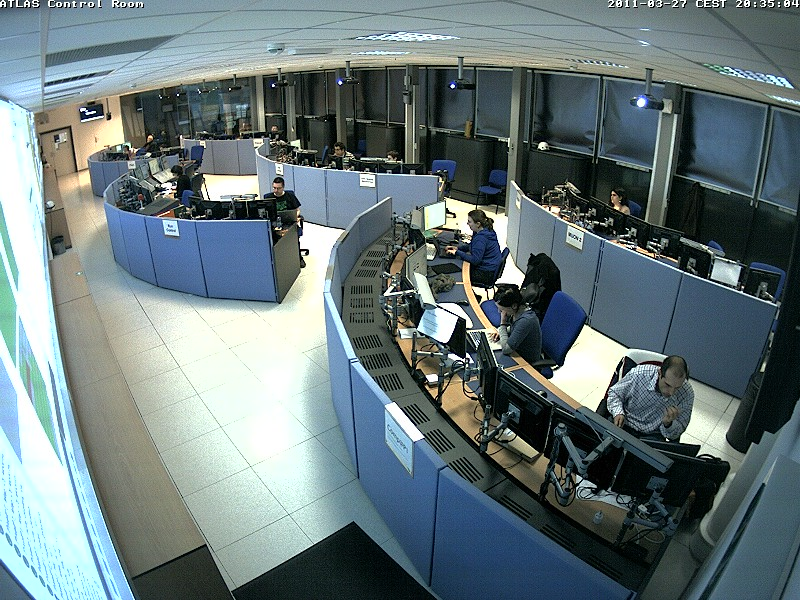 ATLAS Control Room web-cam