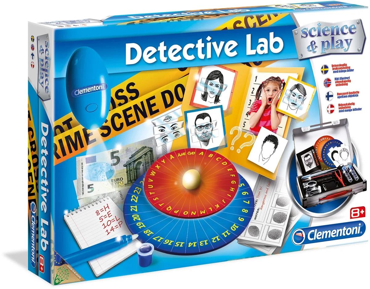 Drömprodukten: Clementoni Science & Play Vetenskapsset Detektiv