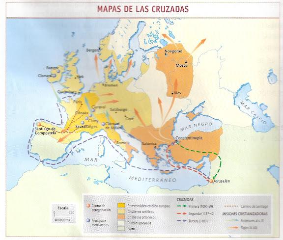 MAPAS DE LAS CRUZADAS