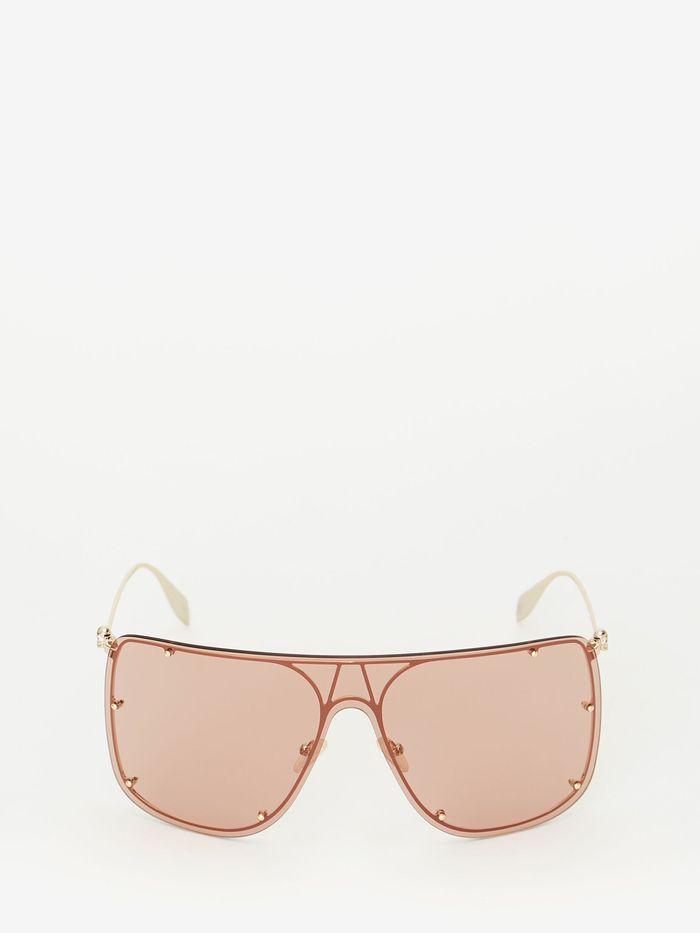 Alexander McQueen Skull Mask Sunglasses