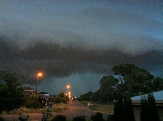 Storm over gungahlin