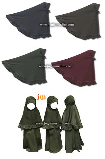 Jual Murah Pakaian Muslim Jilbab Anak Usia 1 Sampai 3 Tahun