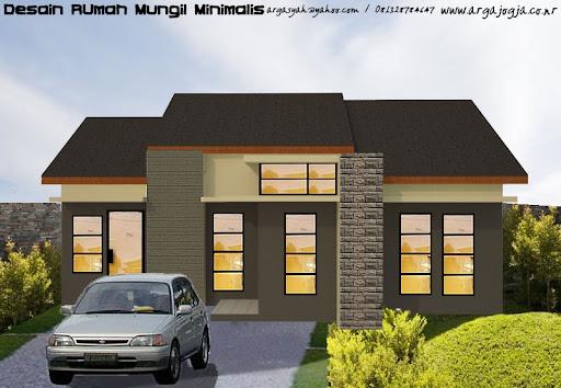 1st home design interior desain rumah modern mungil