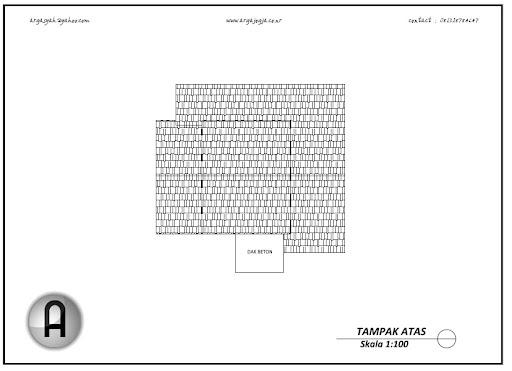 Desain Rumah Modern Mungil Minimalis Type 80