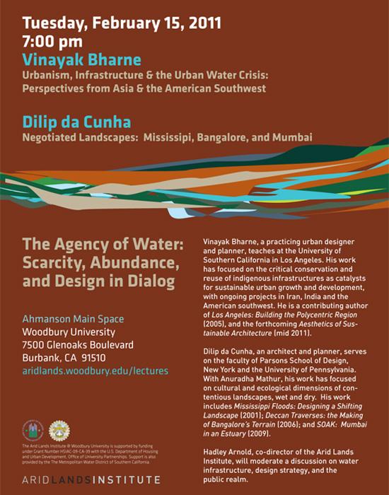 Vinjayak Bharne and Dilip da Cunha