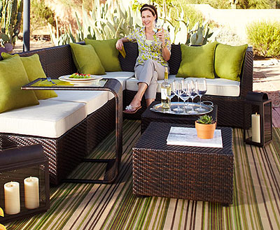patio furniture - My Patio & Backyard: Needs Some Pier 1 Love - Crafts By Amanda