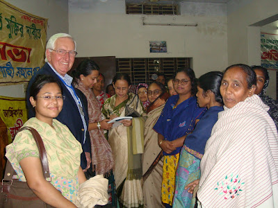 At a woman's political meeting Rajshahi, Bangladesh, 2008