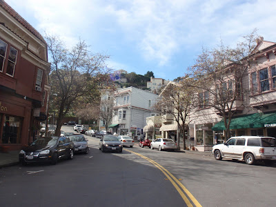 Quaint Streets of Sausalito