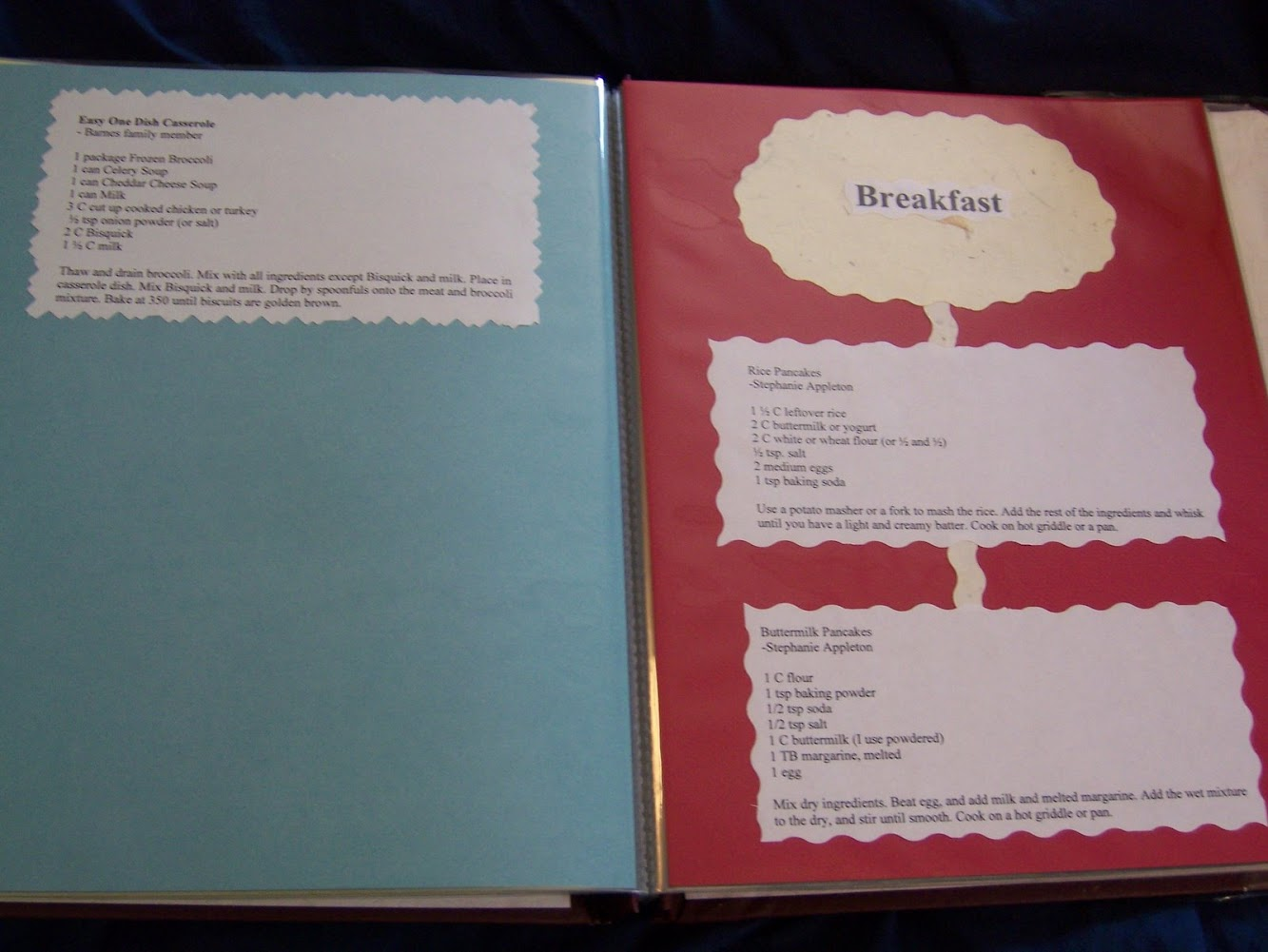 Creating a Cookbook for a Frugal Wedding Present