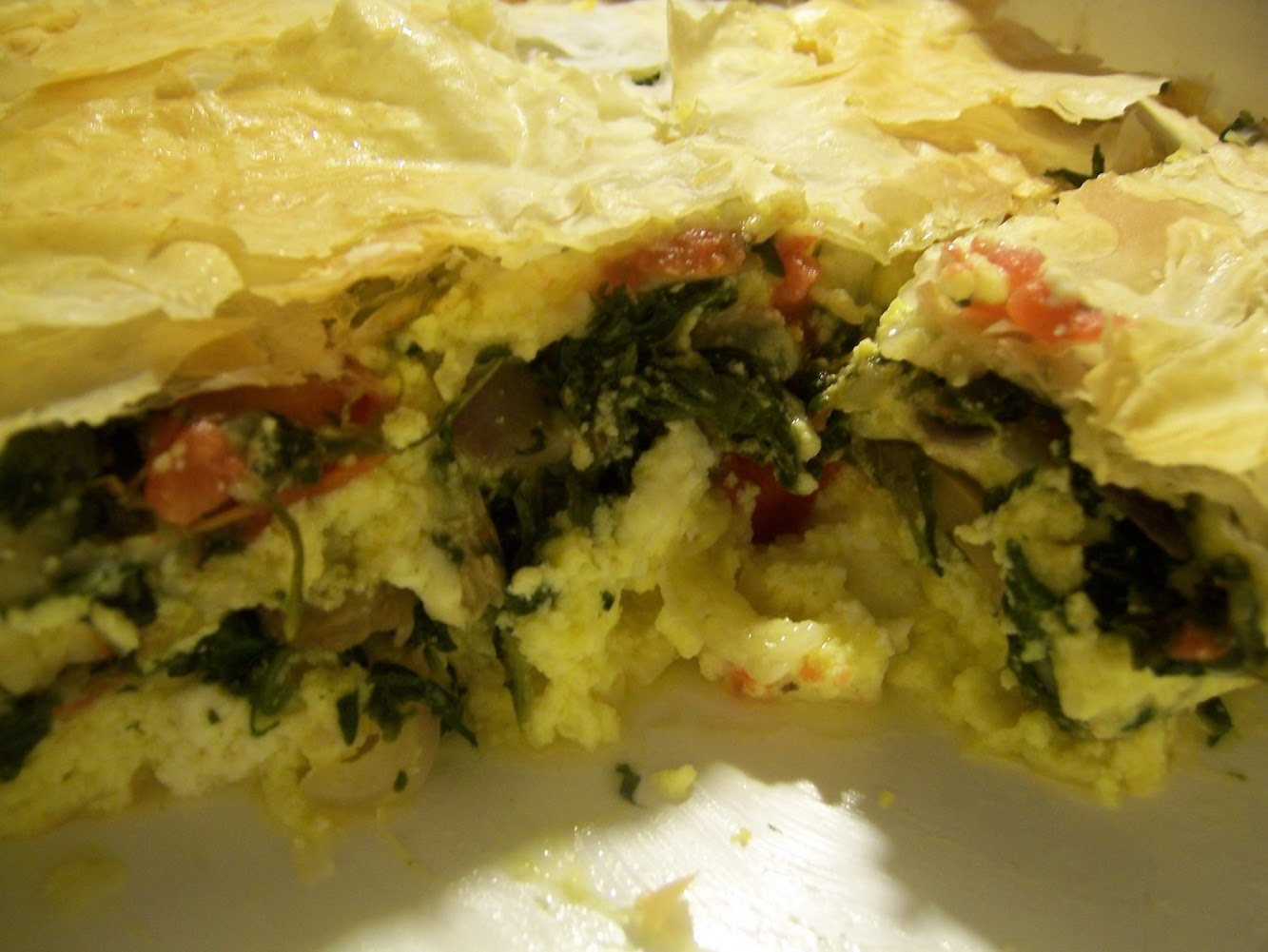Spinach Pie Quiche