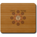 Penny Star Puzzle Mousepad