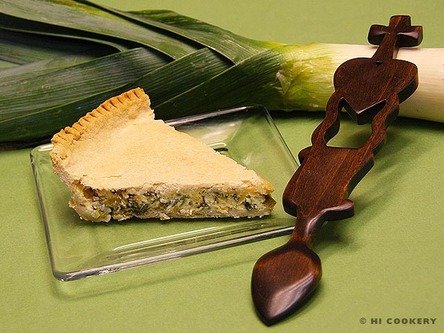 St. David's Leek Pie