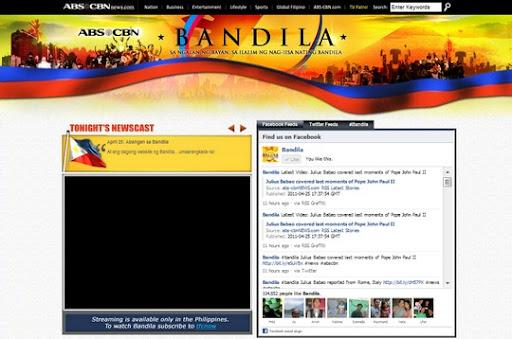 bandila website