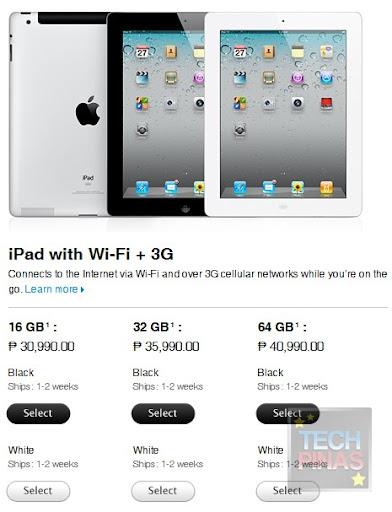 apple ipad 2 price