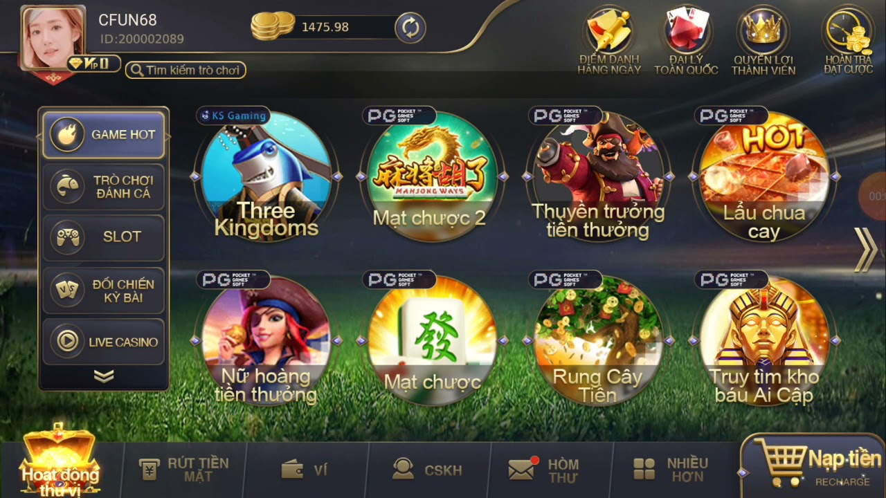 Cfun68 game bài