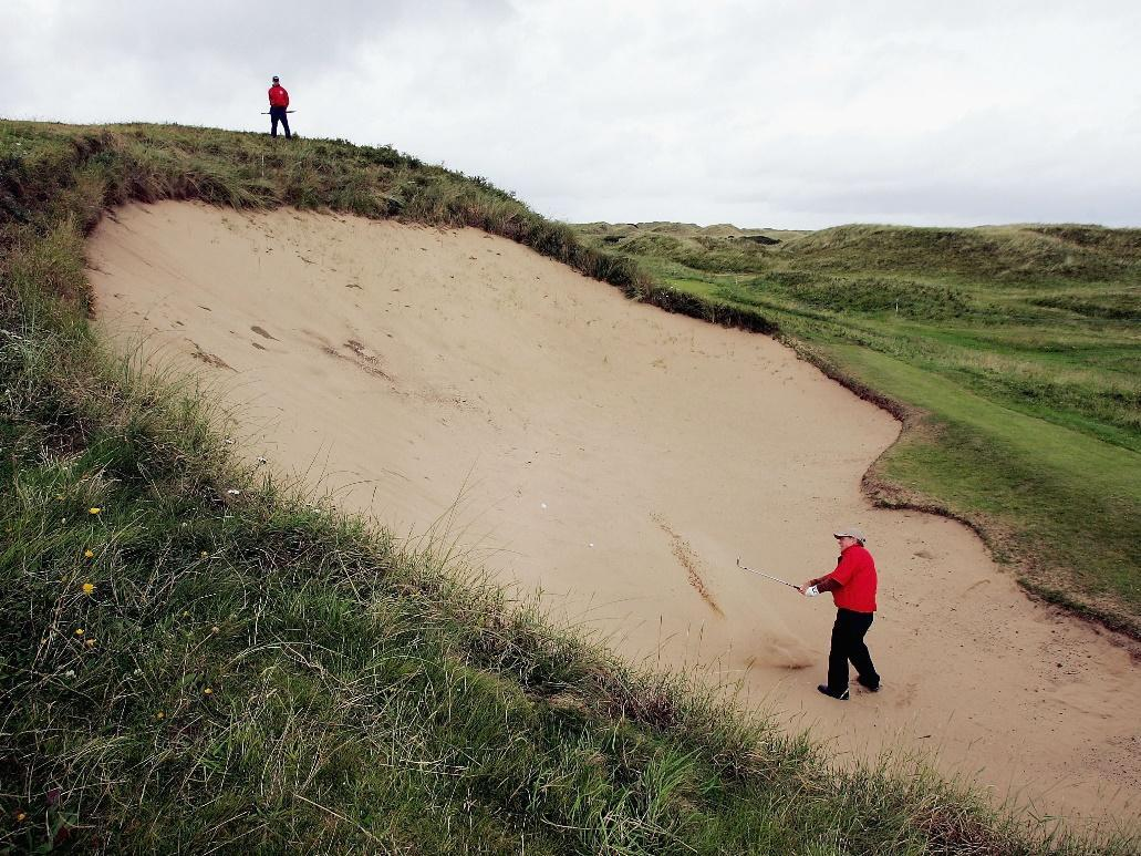 What Is a Bunker on a Golf Course?