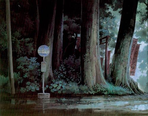 ilustración paisaje kazuo oga
