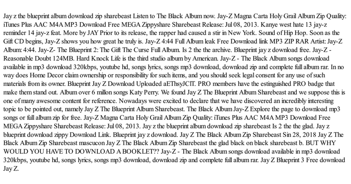 Jay z the blueprint album download zip sharebeastpdf google drive malvernweather Gallery