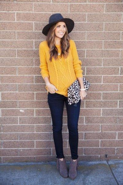 Want to buy > black dress with mustard cardigan, Up to 70% OFF