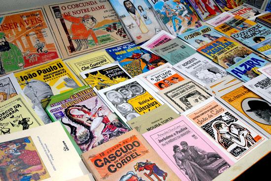 Os folhetos de literatura de cordel são Patrimônio Imaterial da Cultura Brasileira (Fonte: Ministério da Educação)