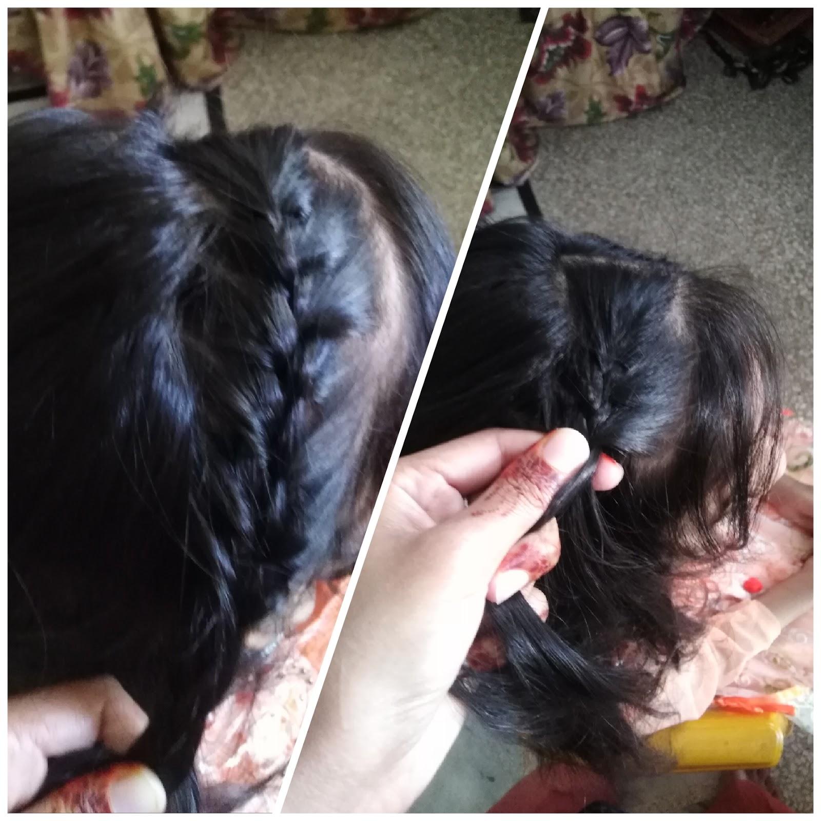 fishtail braid, french braid