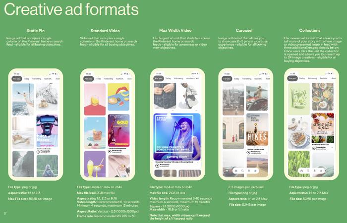 Guia de marketing do Pinterest