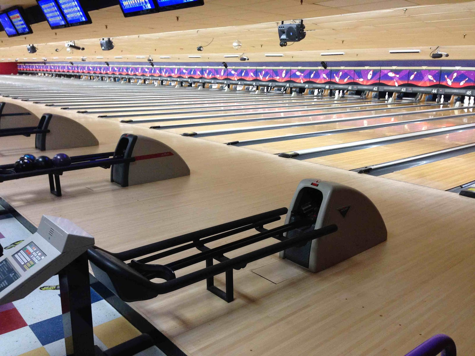 AMF-branded bowling center