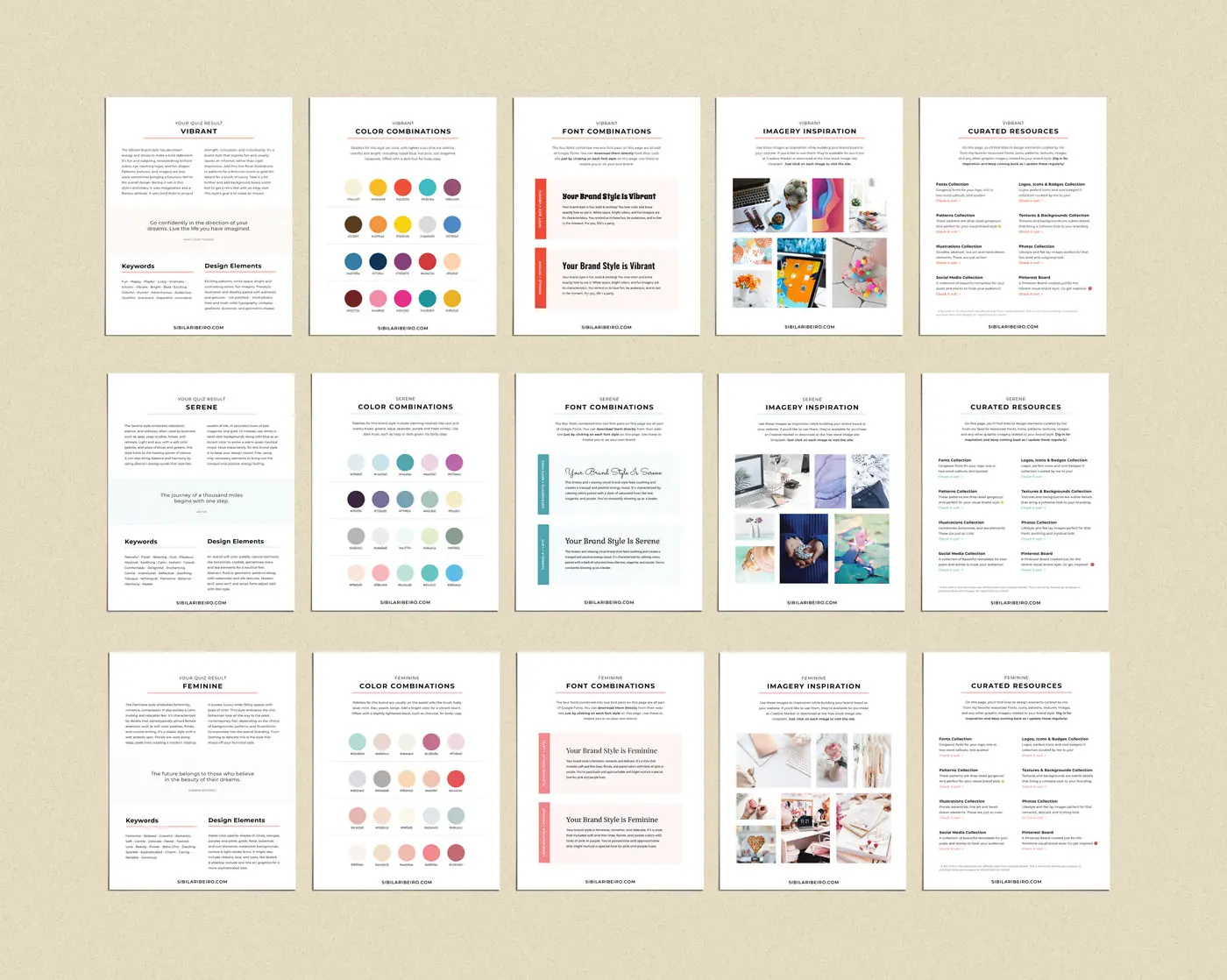 examples of PDF on quiz landing page