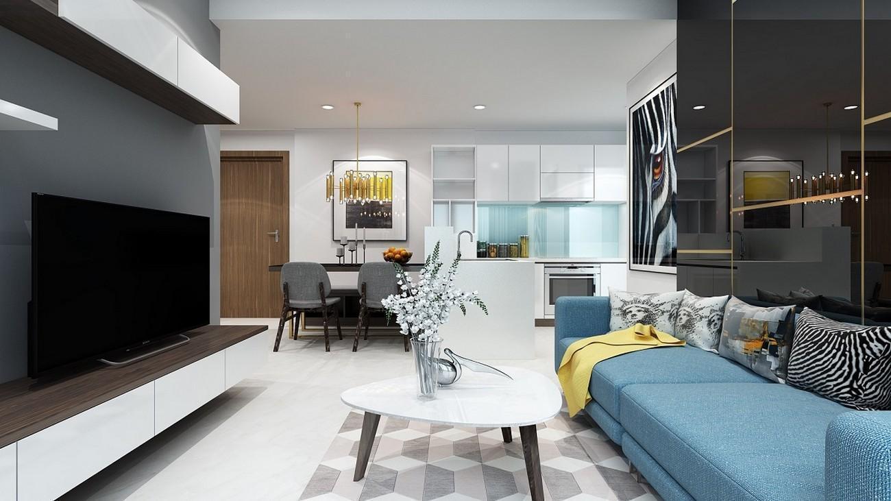 Thiết kế căn hộ Masteri Quận 9