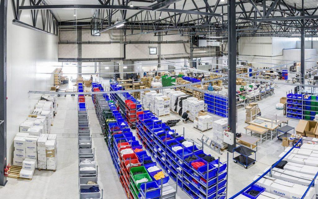 Centre de production Printful en Europe