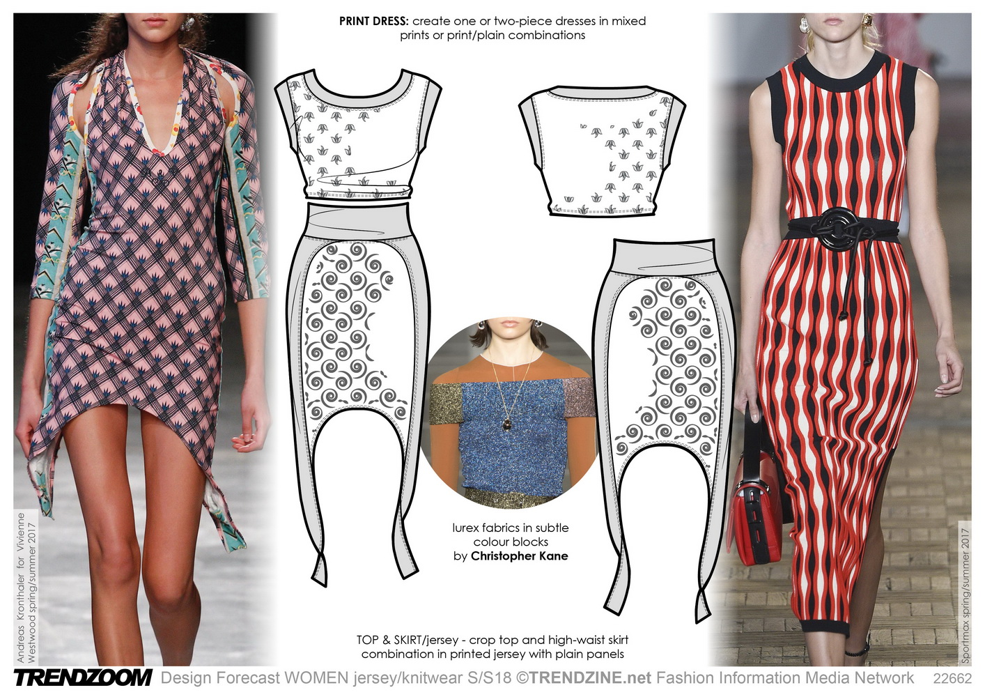 Trendzoom: Design Forecast Women Jersey & Knitwear S/S 18 ...