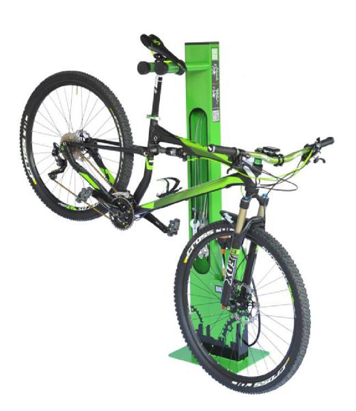 Staţia autonomă de service pentru biciclete