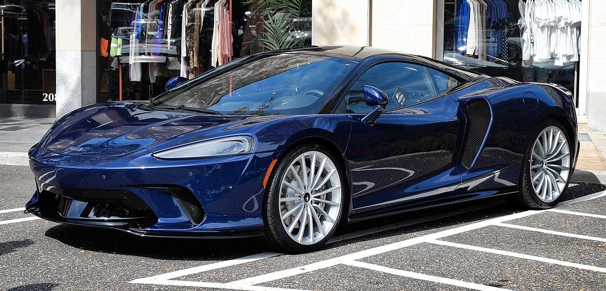McLaren GT  Front Look