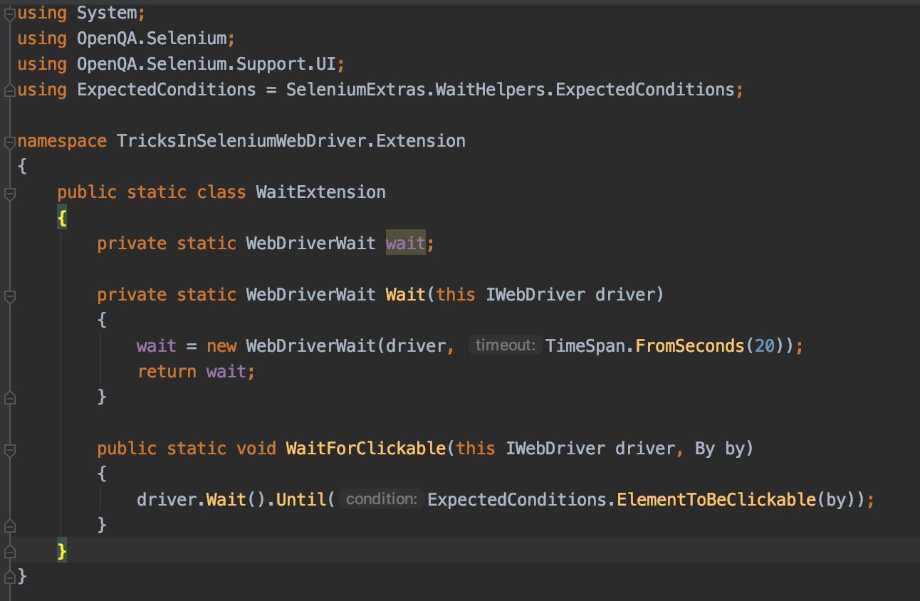 5 nieoczywistych tricków w Selenium WebDriver