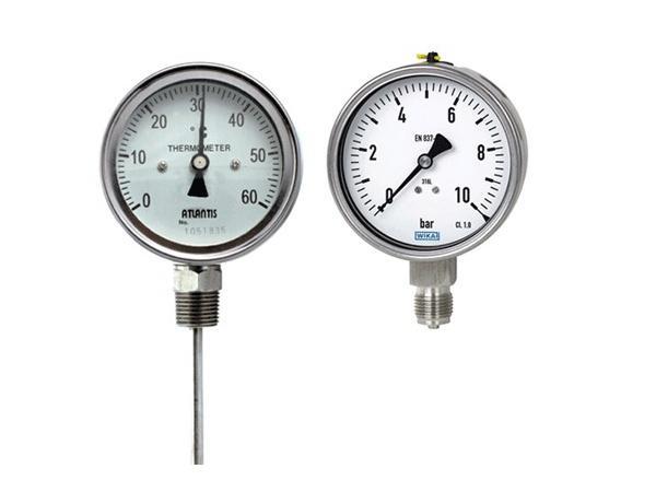 Đồng hồ đo áp suất với các đường kính ra sao?