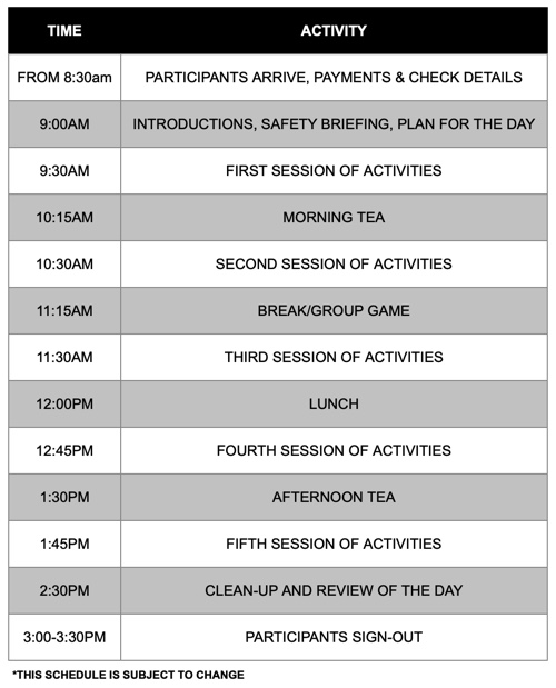 EACH HOLIDAY PROGRAM FEATURES DIFFERENT ACTIVITIES. VISIT www.edwooducation.com.au FOR MORE DETAILS.