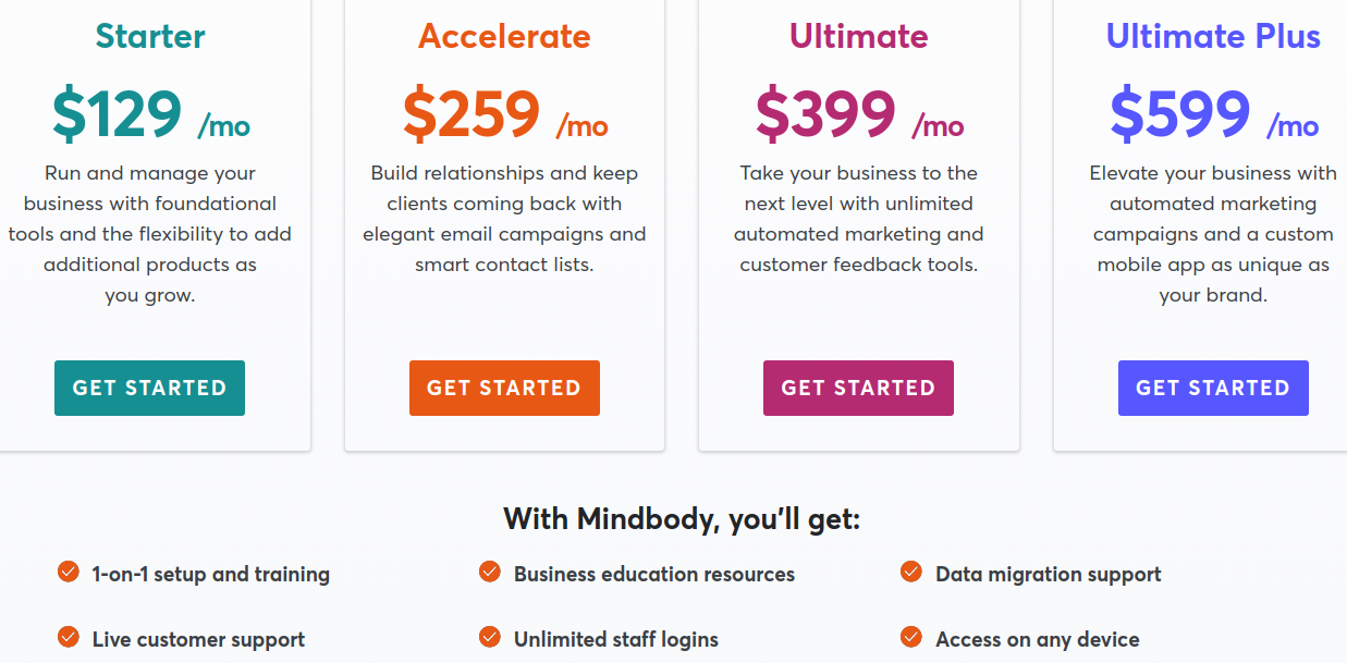 MindBody Personal Trainer Software Review [year] 7