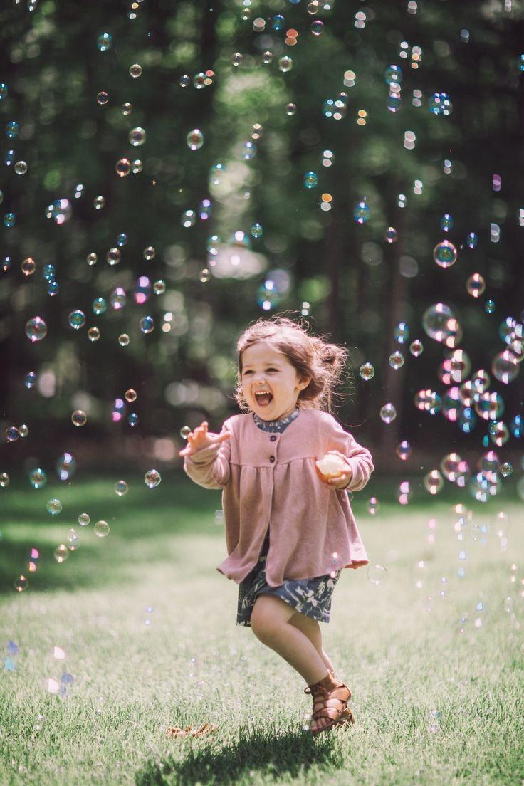 ژست عکاسی با حباب