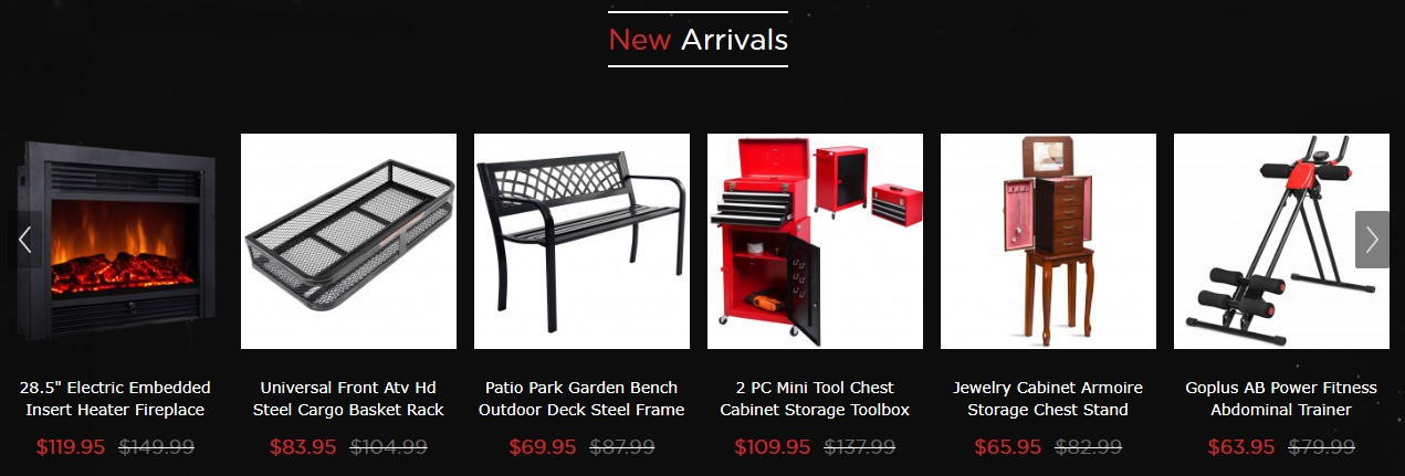 Costway New Arrivals Products