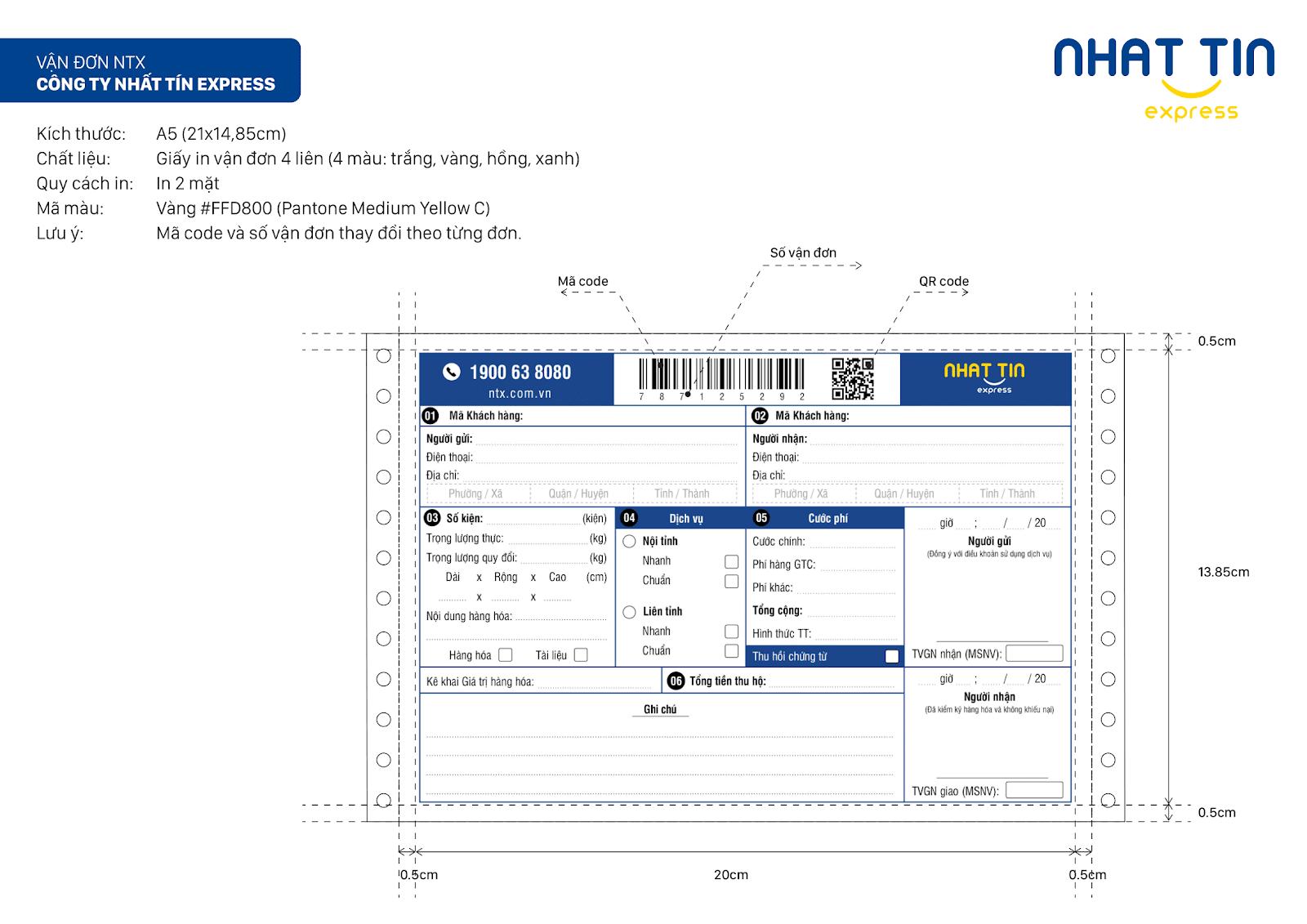 Phiếu giao hàng là gì? Tải mẫu phiếu gửi hàng mới nhất tại Nhất Tín Express