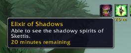 Elixir of Shadows buff