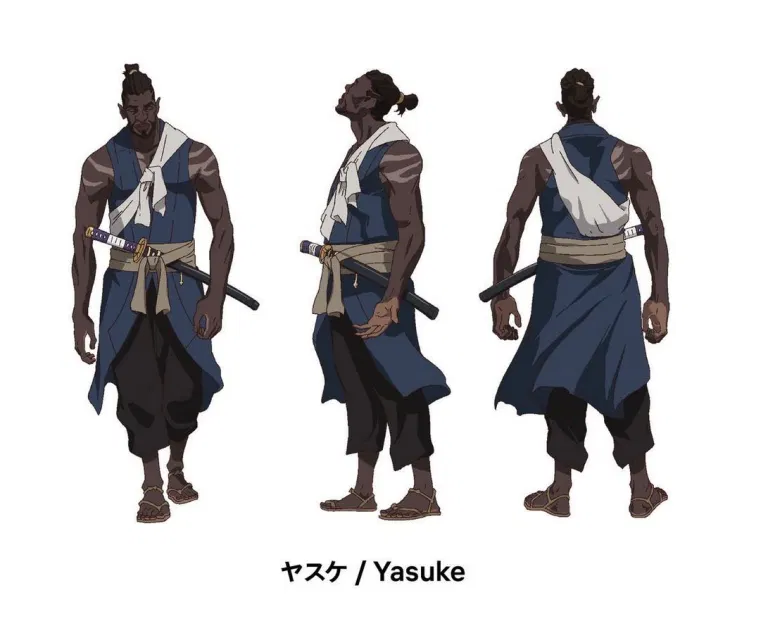 Artwork for Yasuke