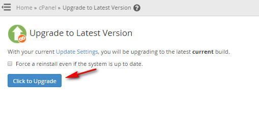 Cara    melakukan   Update  Versi  Cpanel  / WHM  ?