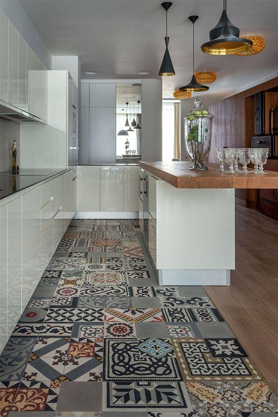 patchwork na cozinha