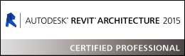 Autodesk Revit Architecture 2015 Certified Professional.png