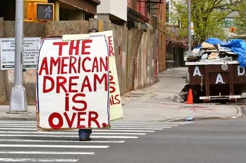 在美国,人们已经失去了过穷日子的本领
