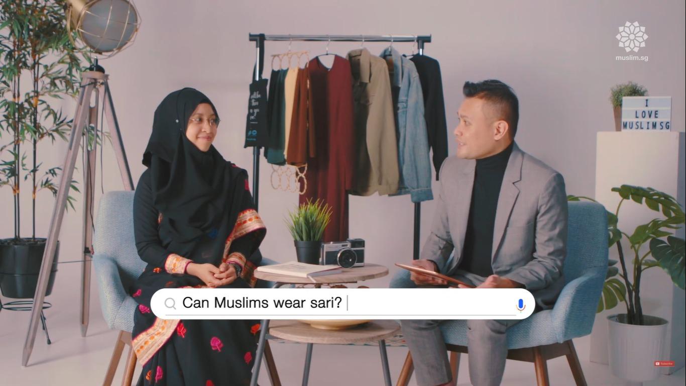 muslim saree style